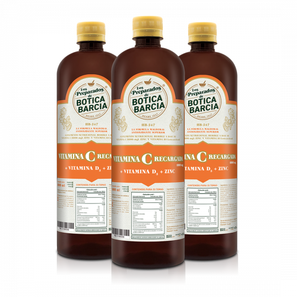 vitamina c recargada d3 zinc botica barcia